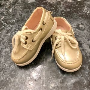 H&M Baby Girl Oxford Dress shoes in light gold